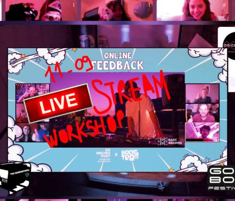 GENERATORS live stream workshop